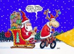 Père Noël c'est la Crise