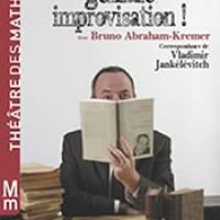 Théâtre/Lecture : Bruno Abraham Kremer lit Jankélévitch au Théâtre des Mathurins - Première le 26 janvier 2013