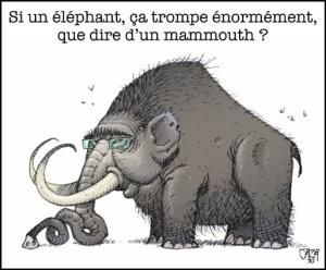 Mammouth ça trompe