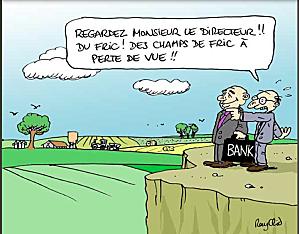 Banques champs de fric_