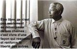 Mandela liberté des autres