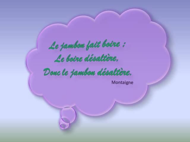 Jambon Montaigne