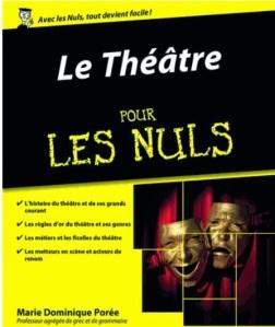 Le Théâtre pour les nuls-Marie-Dominique Porée / Les carnets d'Eimelle