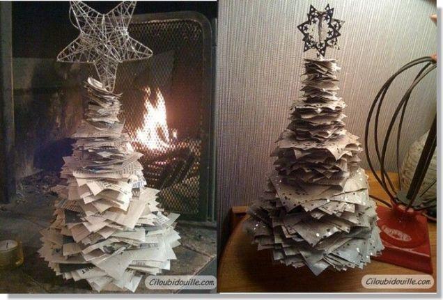 Pour recycler les vieux journaux et vieilles paperasses !
