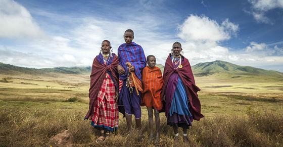Femmes MassaÎ du Serengeti