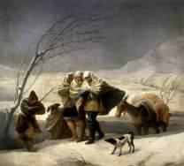 Francisco de Goya - L'hiver