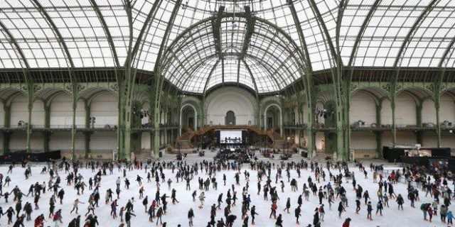 Paris Grand Palais Patinoire 2014