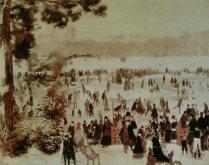 Pierre Auguste Renoir - Patineurs du bois de Boulogne
