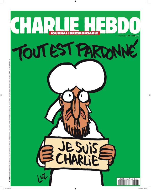 Charlie Hebdo - Une Tout est pardonné