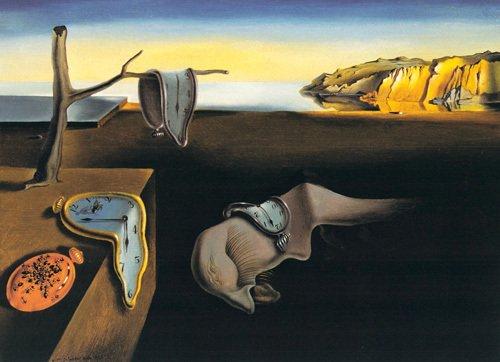 Dali - Les Montres molles (Persistance de la mémoire-1931)