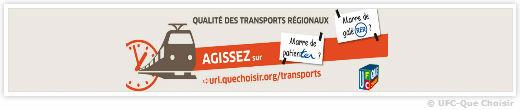 transports-Qualité des Transports Régionaux