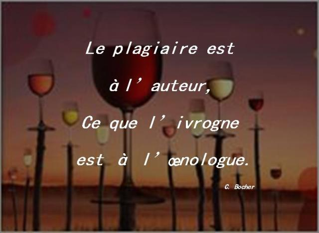Citation - Le Plagiaire (C. Bocher)