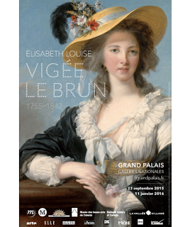 Affiche expo Vigée -Grand Palais