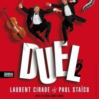 """""""DUEL Opus 2"""" - Virtuosité et loufoquerie musicales au Palais-Royal à partir du 5 février 2016"""