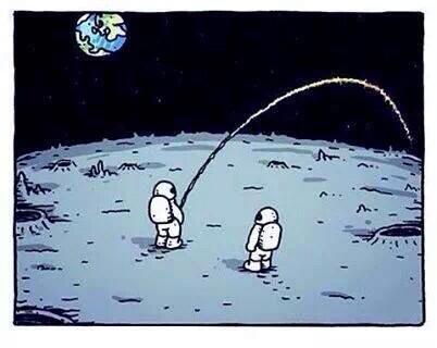 Aller pisser sur la lune (trouvé sur elgenmeme.com)