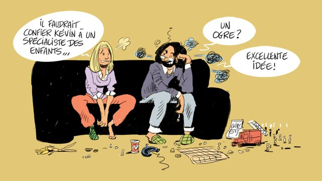 © Dessin : Thierry Doudoux - France 3 Champagne-Ardenne