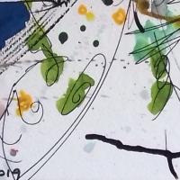 Encore une jolie rencontre avec une artiste et son œuvre : Brigitte Gaudou